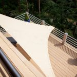 Voile ombrage balcon